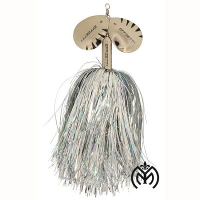 Effzett Pike Rattlin' Spinner 20 cm- Silver-01