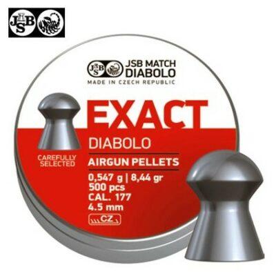 PLOMOS JSB EXACT JUMBO 4,5 (500ud)