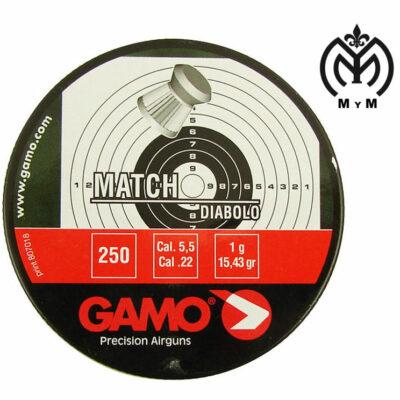 PLOMOS PLOMOS GAMO MATCH 5.5 - 250