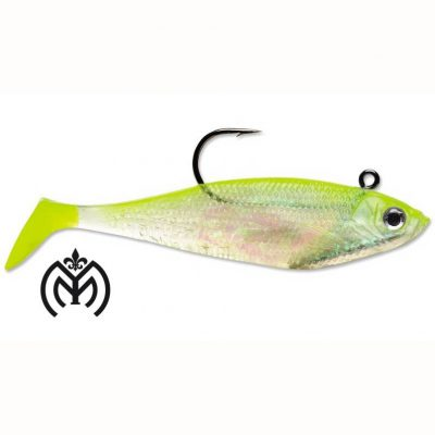 STORM WildEye Swim Shad 6_ - Shiner Chartreuse Silver-01