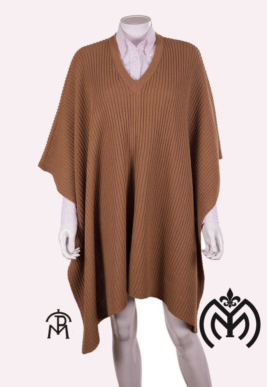 Poncho Tricot Mujer  Pasion Morena® 04-035