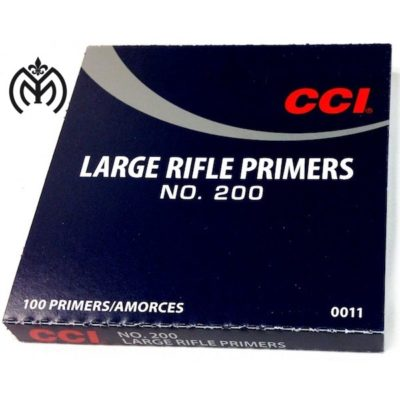 CCI Large Rifle Primers no 200