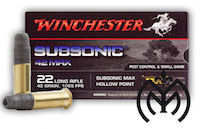 WINCHESTER Subsonic 22