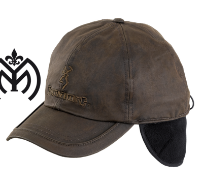 Gorra Browning Winter Wax Fleece Brown-01