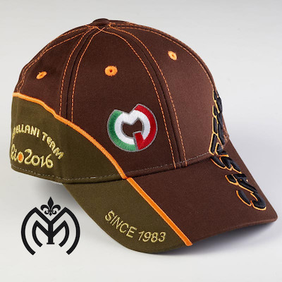 Gorra Castellani Marron 01 copia